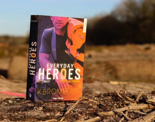 everyday heroes tome 2 sur un tronc d'arbre