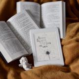 Ferme les yeux et fais un voeu de Cécile Bergerac avec deux livres, un ange et un plaid jaune