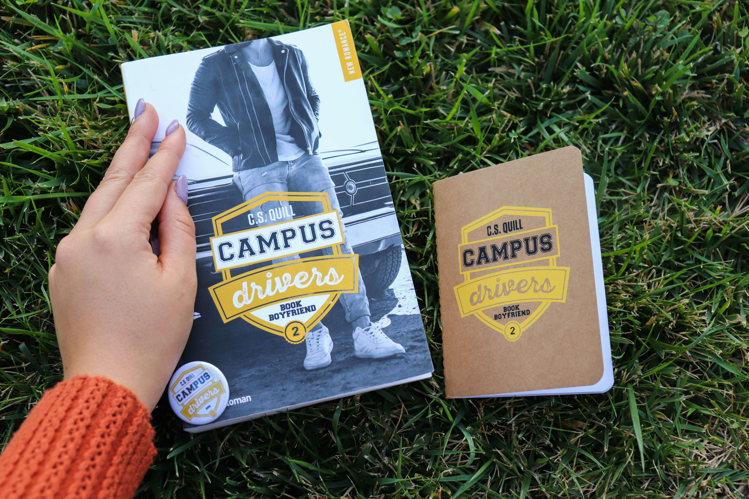 Campus Drivers #2 Bookboyfriend – C.S. Quill