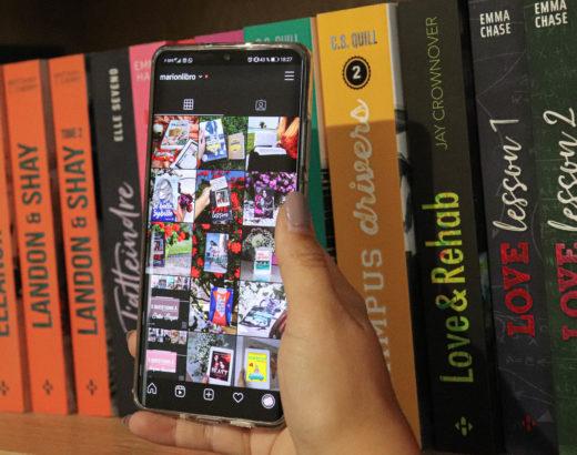 bookstagram conseils livres téléphone