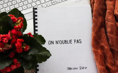 Mon 1er roman – On n'oublie pas – Marion Libro